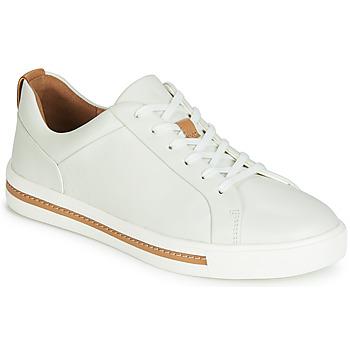 Sapatos Mulher Sapatilhas Clarks UN MAUI LACE Branco