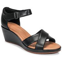 Sapatos Mulher Sandálias Clarks UN PLAZA CROSS Preto