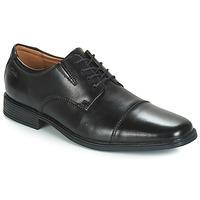 Sapatos Homem Sapatos Clarks TILDEN CAP Preto