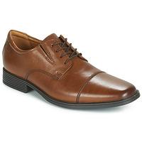 Sapatos Homem Sapatos Clarks TILDEN CAP Castanho