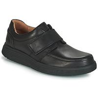 Sapatos Homem Sapatos Clarks UN ABODE STRAP Preto