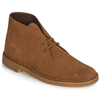 Sapatos Homem Botas baixas Clarks DESERT BOOTUK Castanho