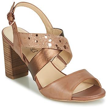 Sapatos Mulher Sandálias Caprice BOLAO Castanho
