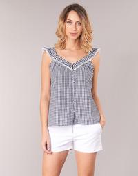 Textil Mulher Tops / Blusas Betty London KORANE Preto / Branco