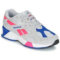 Sapatos Sapatilhas Reebok Classic AZTREK Bege / Azul