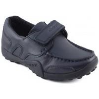 Sapatos Rapaz Sapatilhas Geox JW SNAKEN COLEGIAL MARINO