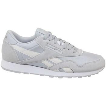 Sapatos Criança Sapatilhas Reebok Sport CL Nylon Skull Branco,Cinzento