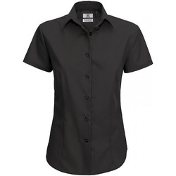 Textil Mulher camisas B And C SWP64 Preto