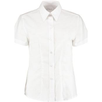 Textil Mulher camisas Kustom Kit KK360 Branco