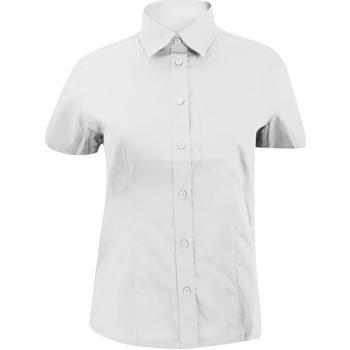 Textil Mulher camisas Kustom Kit KK719 Branco