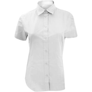 Textil Mulher camisas Kustom Kit KK728 Branco