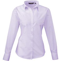 Textil Mulher camisas Premier PR300 Lilás