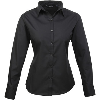 Textil Mulher camisas Premier PR300 Preto