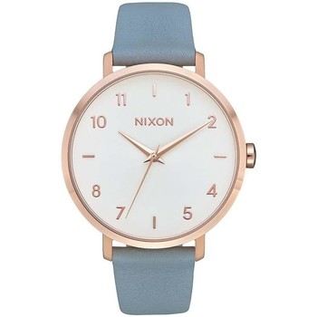 Relógios Relógios Analógicos Nixon RELOJ  ARROW LEATHER ROSE ouro