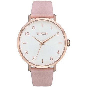 Relógios Relógios Analógicos Nixon RELOJ  ARROW LEATHER ROSA ouro