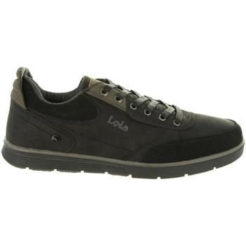 Sapatos Homem Sapatilhas Lois Jeans 84720 Negro