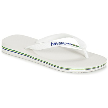 Sapatos Chinelos Havaianas BRASIL LOGO Branco