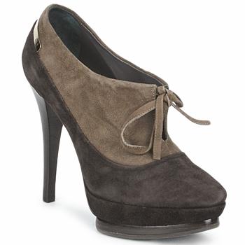 Sapatos Mulher Botas baixas Alberto Gozzi CAMOSCIO ARATY Castanho