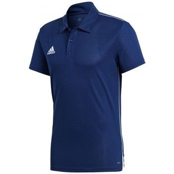 Textil Homem Polos mangas curta adidas Originals Core 18 m/c Dark blue-White