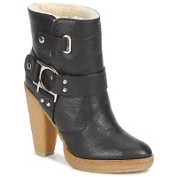 Sapatos Mulher Botins Belle by Sigerson Morrison ZUMA Preto