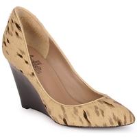 Sapatos Mulher Escarpim Belle by Sigerson Morrison HAIRMIL Bege / Preto