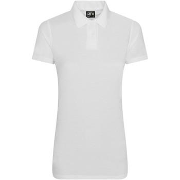 Textil Mulher Polos mangas curta Pro Rtx RX05F Branco
