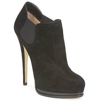 Sapatos Mulher Botas baixas Casadei 8532G157 Preto