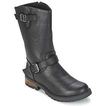Sapatos Mulher Botas baixas Les P'tites Bombes ZOLA Preto