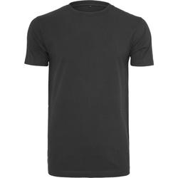 Textil Homem T-Shirt mangas curtas Build Your Brand BY004 Preto