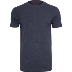 Textil Homem T-Shirt mangas curtas Build Your Brand BY004 Marinha