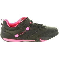 Sapatos Rapariga Sapatilhas Kappa 303TZM0 SARABI Negro