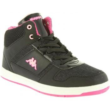 Sapatos Mulher Sapatilhas de cano-alto Kappa 303ZLP0 DRAVER Negro