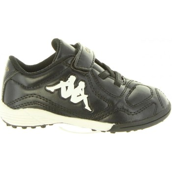 Sapatos Criança Sapatilhas Kappa 303U420 PAREK Negro