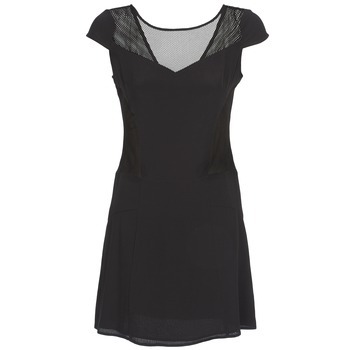 Textil Mulher Vestidos curtos Naf Naf KLAK Preto