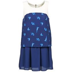 Textil Mulher Vestidos curtos Naf Naf LIBAIN Marinho