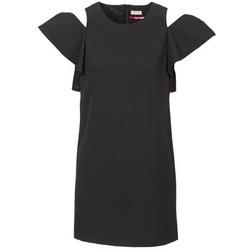 Textil Mulher Vestidos curtos Naf Naf X-KARLI Preto