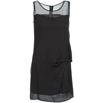 Textil Mulher Vestidos curtos Naf Naf X-LAMO Preto