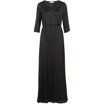 Textil Mulher Vestidos compridos Naf Naf X-MAYOU Preto