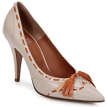 Sapatos Mulher Escarpim Michel Perry CAMOSCIO Pó
