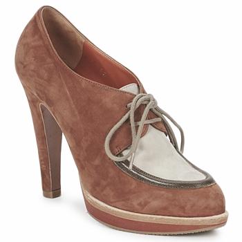 Sapatos Mulher Botas baixas Michel Perry SADDLE Saddle-madras
