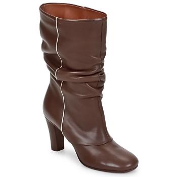 Sapatos Mulher Botins Michel Perry SAHARA Cáqui