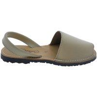 Sapatos Sandálias Huran Sandalias Menorquinas Beige Bege