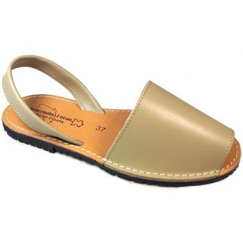 Sapatos Sandálias Huran SANDALIAS MENORQUINAS BEIGE Beige