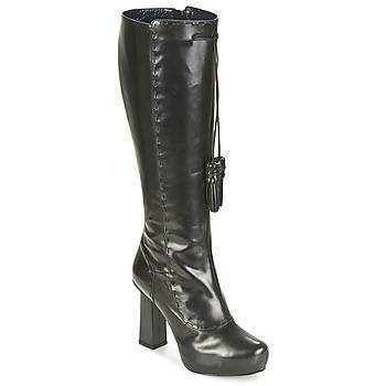 Sapatos Mulher Botas Pollini PA2611 Preto