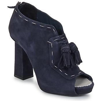 Sapatos Mulher Botas baixas Pollini PA1620 Navy