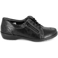 Sapatos Mulher Sapatos Boissy Derby 80069 Noir Preto