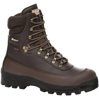 Sapatos Sapatos de caminhada Chiruca Botas  Canada Force 42 Goretex Castanho