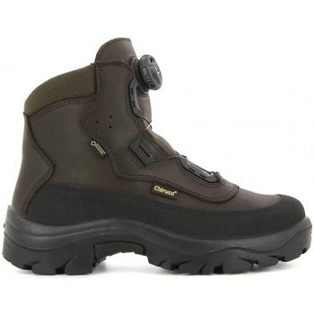Sapatos Sapatos de caminhada Chiruca Botas  Labrador Boa 42 Bandeleta Gore-Tex Castanho