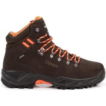 Sapatos Sapatos de caminhada Chiruca Botas  Berrea Hi Vi 08 Gore-Tex Castanho