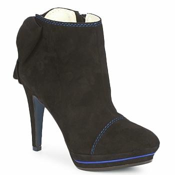Sapatos Mulher Botas baixas Tiggers MEDRAM Preto